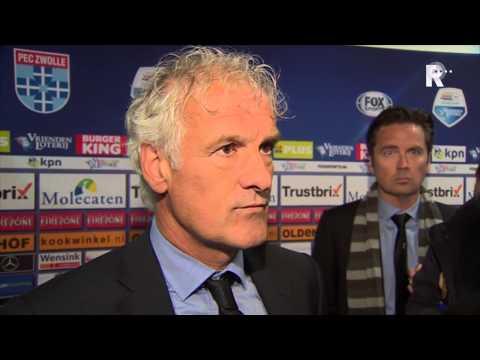 Fred Rutten na afloop van PEC Zwolle - Feyenoord
