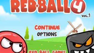 Прохождения игры red ball 4