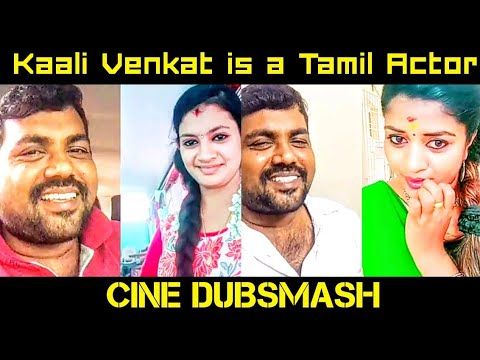 Kali Venkat Tamil Actor | Lovers Duet Dubsmash | Tamil Dubsmash Video - Cine Dubsmash