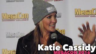 Katie Cassidy Panel at MegaCon 2016!