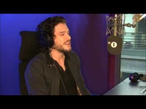 Kit Harington Spooks Grimmy BBC Radio 1 2015
