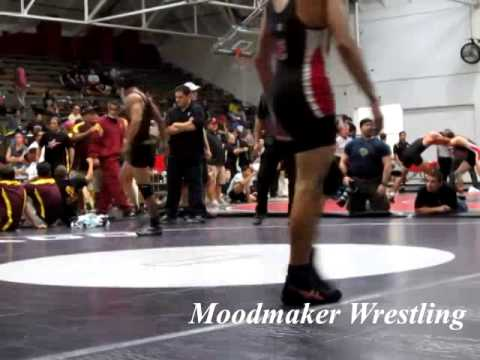 Santa Ana College Wrestling Tournament 2012 - 133-FINAL: Juan Jaime vs. AJ Valles