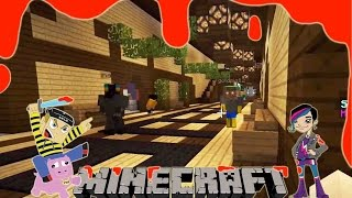 MURDER mini game play with Radiojh Audrey Games - Minecraft