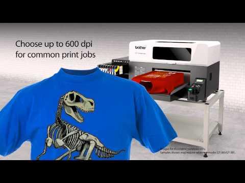 Impresora digital textil Brother GT-381