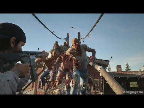 Days Gone - E3 2016 Gameplay Walkthorugh - PS4