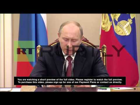 Russia: Putin chairs Russian Security Council meeting on Afghanistan