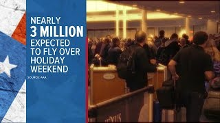 Air travel expectations for Memorial Day weekend