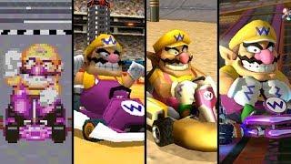 Evolution of Wario in Mario Kart (1996-2019)