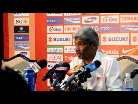 AFF SUZUKI CUP 2012 Malaysia vs Indonesia Post Game Press Conference