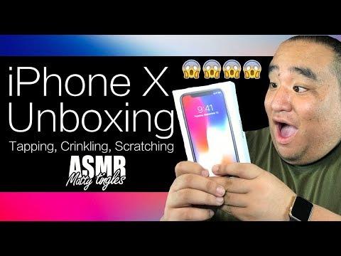 [ASMR] iPhone X Unboxing   MattyTingles