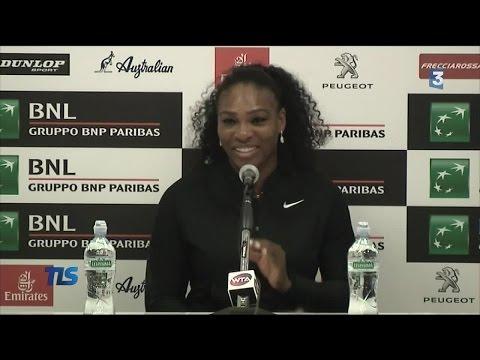 Serena Williams en reconquête à Rome