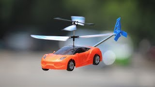 How to make a Flying Car - HELICOPTER CAR