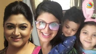 Khushboo explains reports on Rambha – Indran's divorce