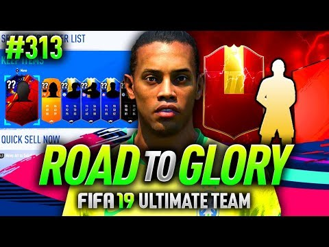 FIFA 19 ROAD TO GLORY #313 - CRAZY ULTIMATE PACK!