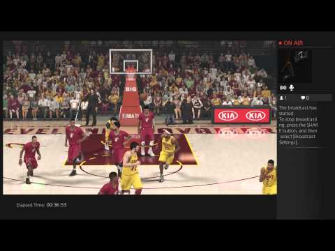 Nba 2k14 Ps4 Kevin Love+Lebron James Double Overtime Miami Heat Vs Cleveland Cavs