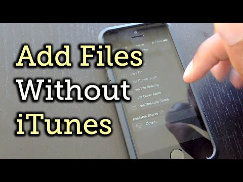 Add Music &  Files to Your iPad or iPhone Without iTunes HowTo