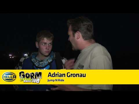 Gorm 24h Race 2012 - Interview Adrian Gronau