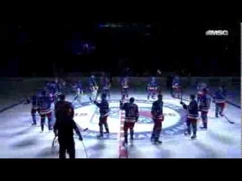 New York Rangers Player Introductions [2013-14 Home Opener]