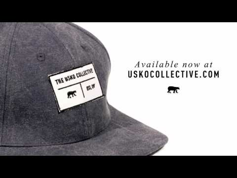 The Indigo Stone Washed Snapback Commercial