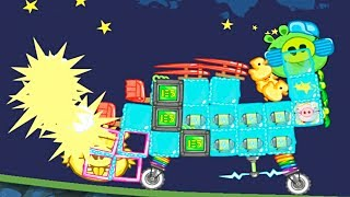 BadPiggiesHD КУРОЧКА РЯБА! BadPiggiesHD Stupid construction!Sandbox! . CAKE RACE!