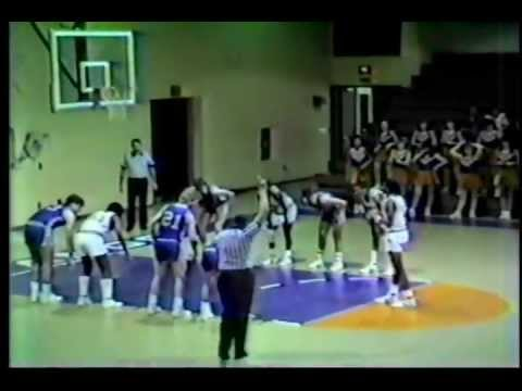Airport High School Basketball 1986 vs. Midland Valley 2/18/86 4th Quarter