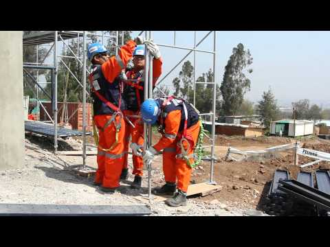 Video instructivo para montaje de andamio estándar NCH2501