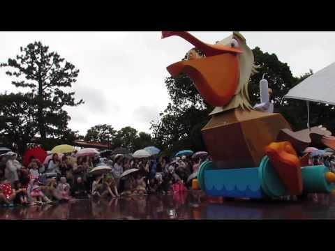 20130620東京迪士尼-遊行4(星際寶貝Lilo和海底總動員)