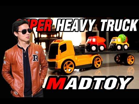 MADTOY ตอนที่162 ขาย รถ รถหัวลาก บังคับวิทยุ SUPER HEAVY TRUCK ราคา 1.200 บาท