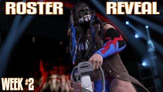 WWE 2K17 Roster Reveal Week #2: 22 NEW SUPERSTARS REVEALED +  FULL FINN BALOR CHAINSAW ENTRANCE!