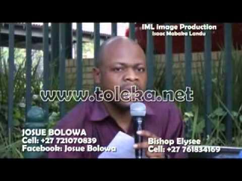 BISHOP ELYSEE DECLARE, QUE SIMON KIMBANGU N'EST PAS DIEU