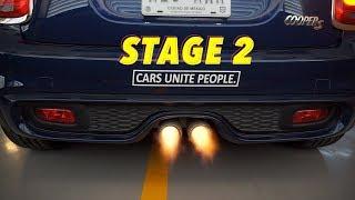 STAGE 2 Mini Cooper S  F56   AL FIN SACA FUEGO