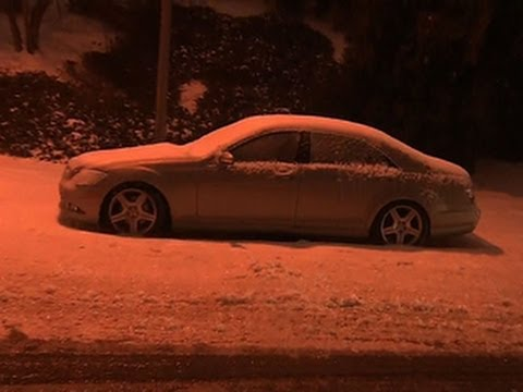 Snow-related gridlock traps many in Raleigh, N.C.