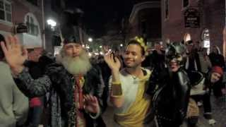 Vermin Supreme Celebrates Halloween with Campaign Stop in Salem, Massachusetts