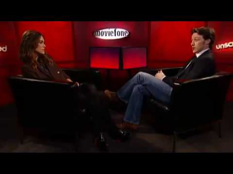 Unscripted with Keira Knightley and James McAvoy