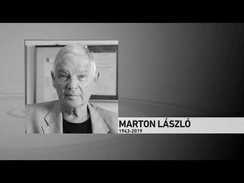 Elhunyt Marton László