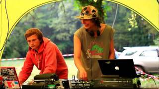 Vetalz & Lega dj set on Psaho Air Camp 2011 part1