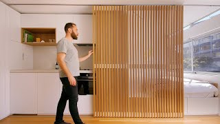 NEVER TOO SMALL ep.24 24sqm Micro Apartment - Boneca