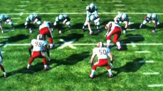 Matthew Berry Takes Out Nate Ravitz First Play of Game in Madden 2011 (Fantasy Focus)