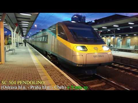 Vlaky Olomouc hlavní nádraží - GVD 2020 (15.12.2019)