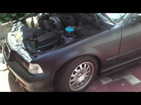 BMW E36 318i na vodu u Rijeci 55% benzin 45% HHO