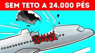 Um Avião Perdeu Parte da Fuselagem a 24 000 Pés, Mas Conseguiu Pousar
