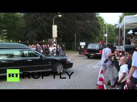 Netherlands: More MH17 bodies arrive in Hilversum for ID process