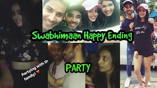 Ek Shringar Swabhimaan Happy Ending Party-Swabhiman News,Updates,Full Episodes