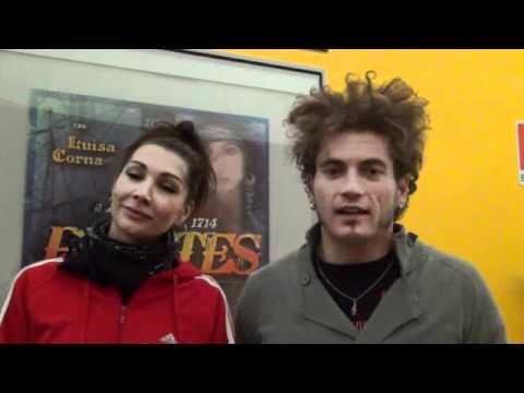 Luisa Corna: intervista per musical Pirates