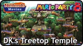 Mario Party 8 - DK's Treetop Temple (3 Players, Very Hard Difficulty)