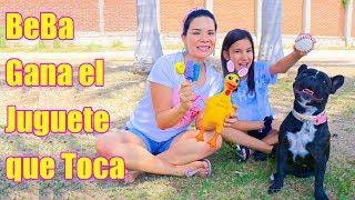 MI PERRITA GANA EL JUGUETE QUE TOCA | AnaNana Toys