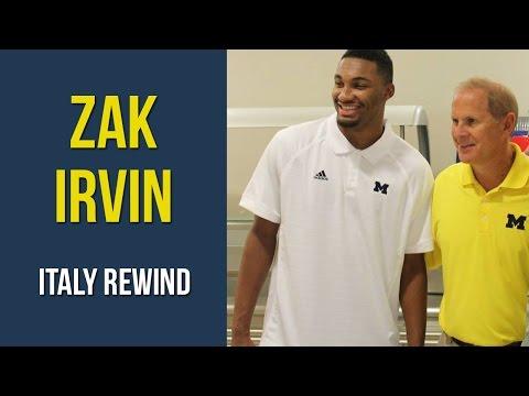 Zak Irvin Italy Rewind 2014