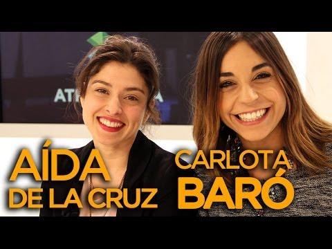 Carlota Baró y Aída de la Cruz de El secreto de Puente Viejo - VIDEOENCUENTROS