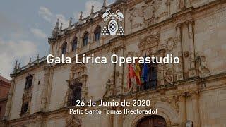 Gala Lírica. Clausura de Operastudio 2019-2020 · 26/06/2020