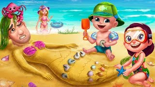 Play Animal Care & Makeover Fun Family -  Summer Vacation  - Fun Care Kids Game